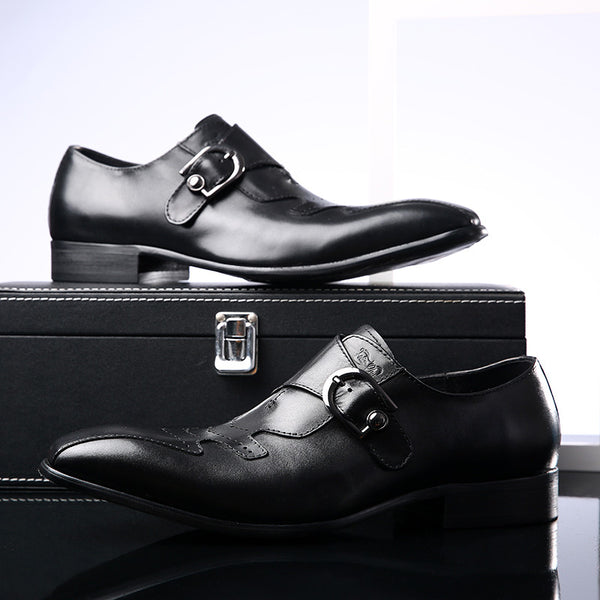 Wilfred Brooks Leather Shoes