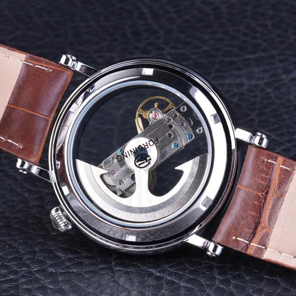 Fred Kinsel Mechanical Stainless Steel Watch
