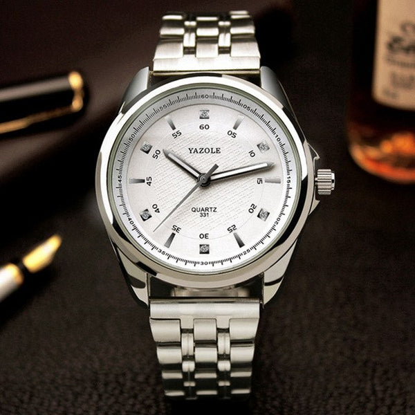 Paul Carter Quartz Stainless Steel Watch
