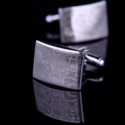 Connor Aidan Patterned Cufflinks