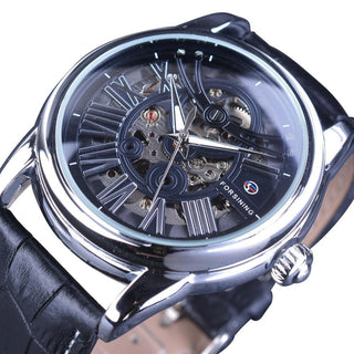 John Thompson Mechanical Stainless Steel Watch