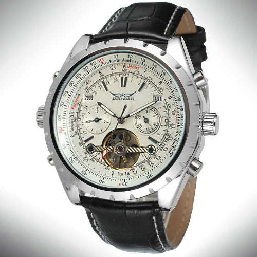 Seth Allen Stainless Steel Mechanical Watch
