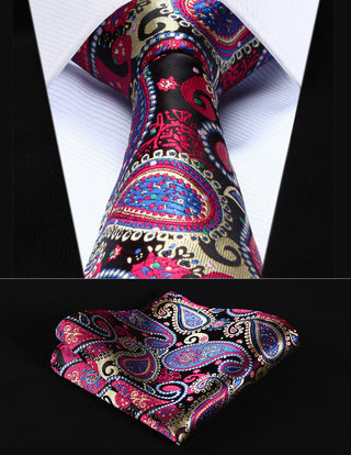 Gary Schmitt Necktie With Handkerchief