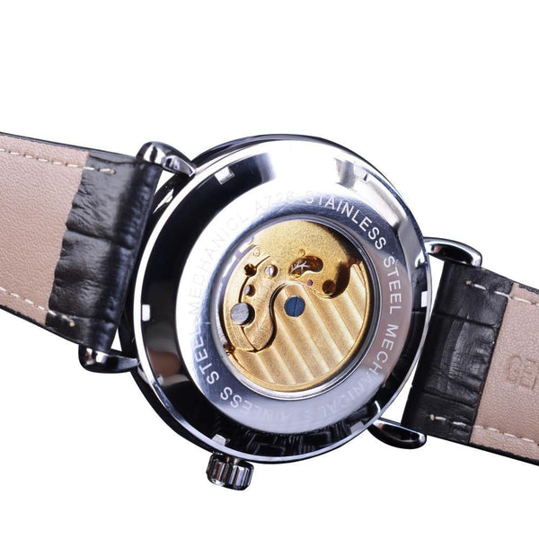 Leon Wolfson Leather Watch