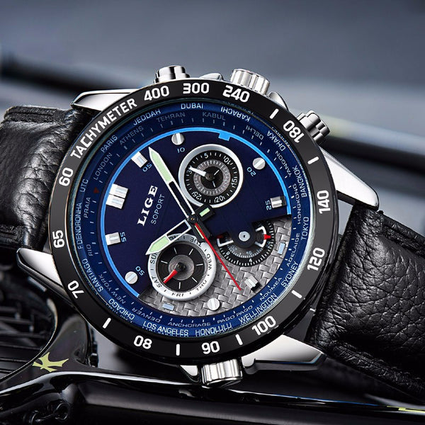 Dean Ryan Luxury Sports Watch