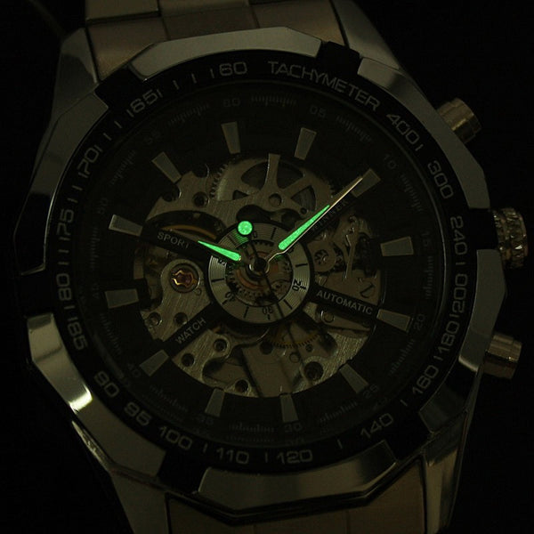 Luke McGinnis Steel Watch