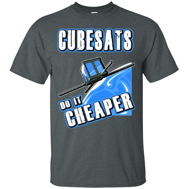Cubesats Do It Cheaper