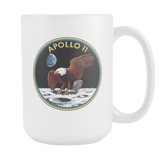 Apollo 11 Mission Patch Mug