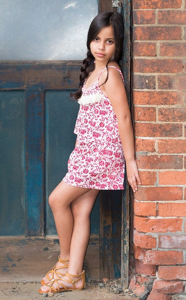 GIRL'S ROMPER FLORAL - Zipora's Closet Boutique