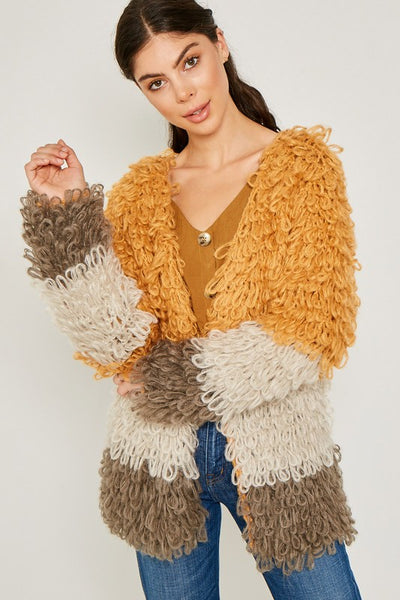 Knit Sweater Coat - Zipora's Closet Boutique