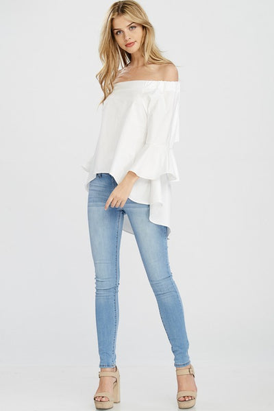 BELL SLEEVE TOP - Zipora's Closet Boutique