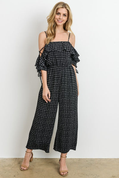 Off Shoulder Jumpsuit - Zipora's Closet Boutique