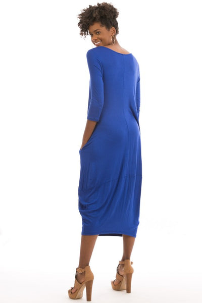 BUBBLE MIDI DRESS - Zipora's Closet Boutique