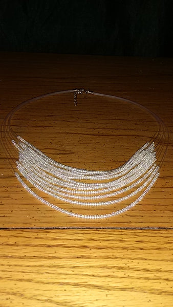 Multi-Strand Seed Bead Necklaces