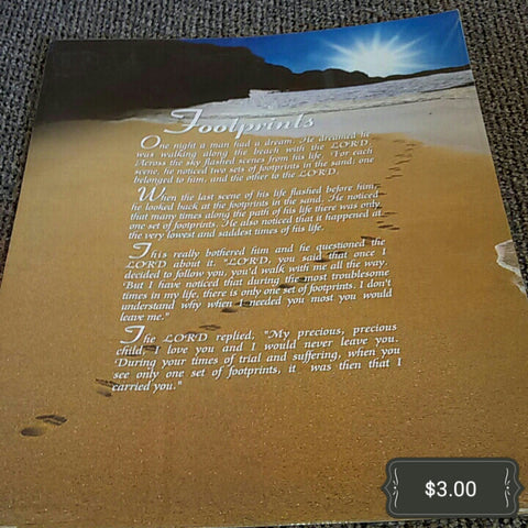 Footprints Poster