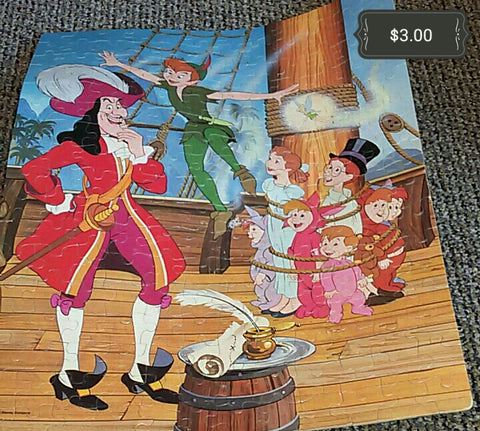 Peter Pan Puzzle Wall Hanging