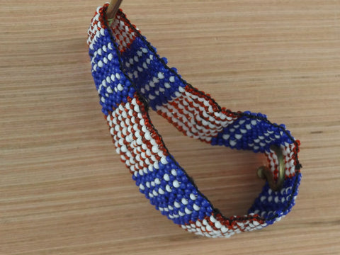 Red White & Blue Flag Bracelet
