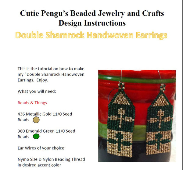 CutiePengu's Beaded Jewelry & Crafts - CutiePengu's Beaded Jewelry & Crafts