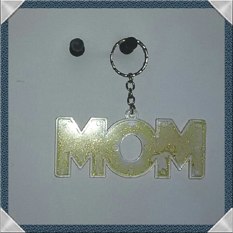 """MOM"" Multi-Color Key Chains"