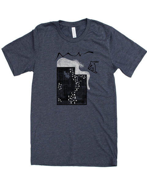 Utah Snowboard Shirt - Tee's as soft as Powder!