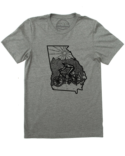 Mountain Bike Georgia home in soft 50/50 Tee's great for active day's or casual wear!