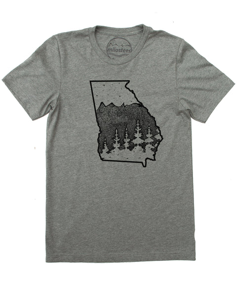 Georgia Home T shirt- Enjoy the Peach State in a Tee softer than a Fuzzy Peach!