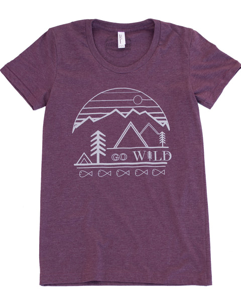 Go Wild T-shirt, Women's Wholesale