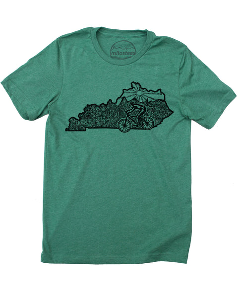 Kentucky Shirt | MTB Illustration | Hand Screen Print on Soft 50/50 Tee's | Elevate the Day!