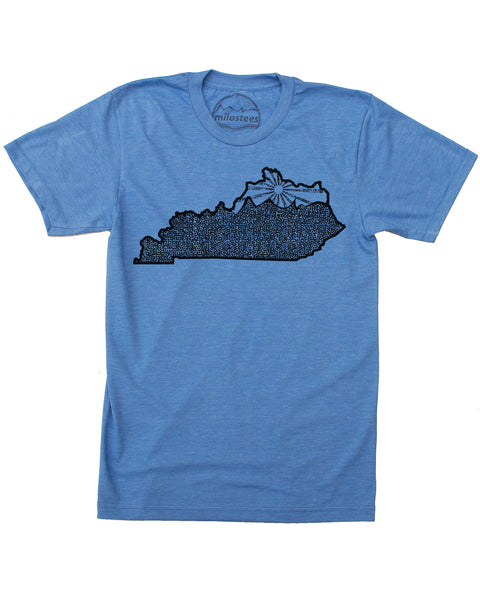 Kentucky Home Shirt | Original Graphic | Hand Print on Soft 50/50 Tee's | Elevate the Day!