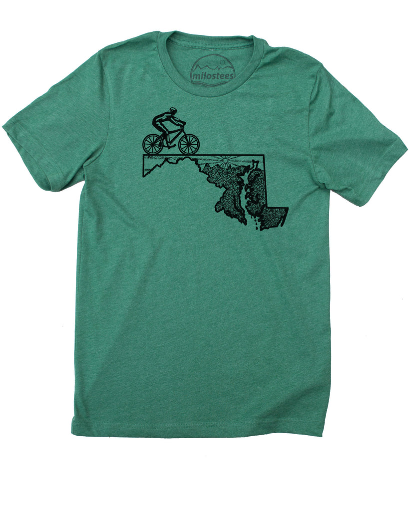 Maryland Shirt | Original MTB Graphic | Soft 50/50 Wears | Elevate the day!