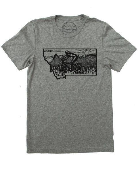 Montana Tee Shirt- Mountain Bike Montana