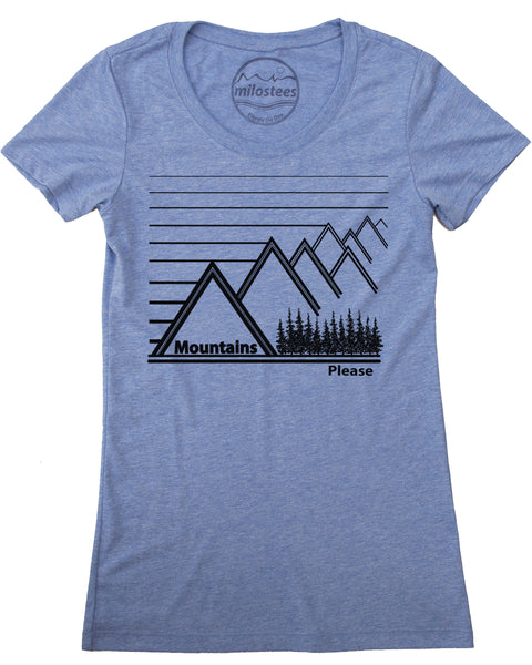 Mountains Please Print on Soft Wears in Form Fitting Style!