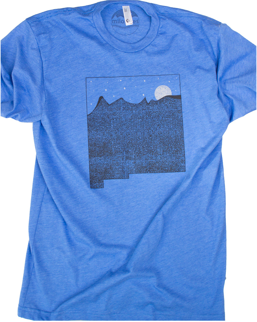 New Mexico T Shirt, Land of Enchantment Printed on Soft Threads