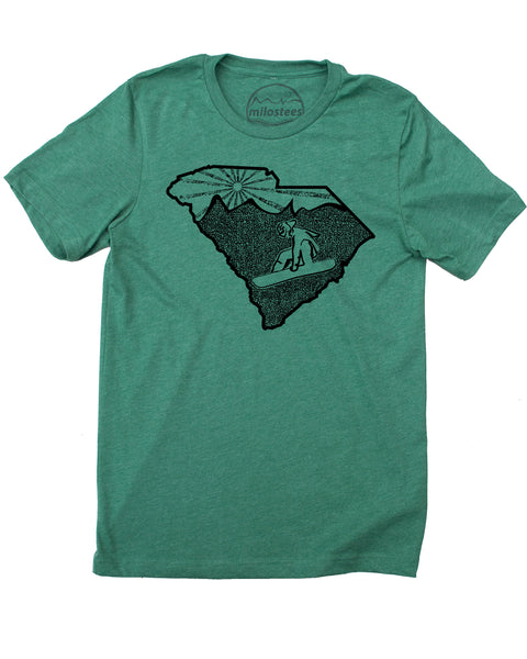 South Carolina Home Shirt | Snowboard Graphic on Soft 50/50 Tees | Elevate the Day!