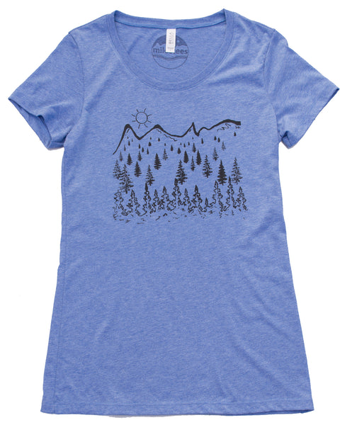 Sun Mountain T-shirt, Women's Form Fitting Style