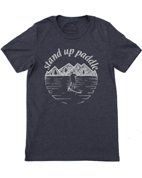 Paddle Board Tee Shirt Men's Wholesale
