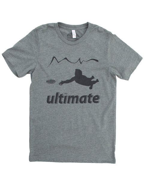 Play Ultimate Frisbee Shirt, Soft Threads with a Silk Screen Print!