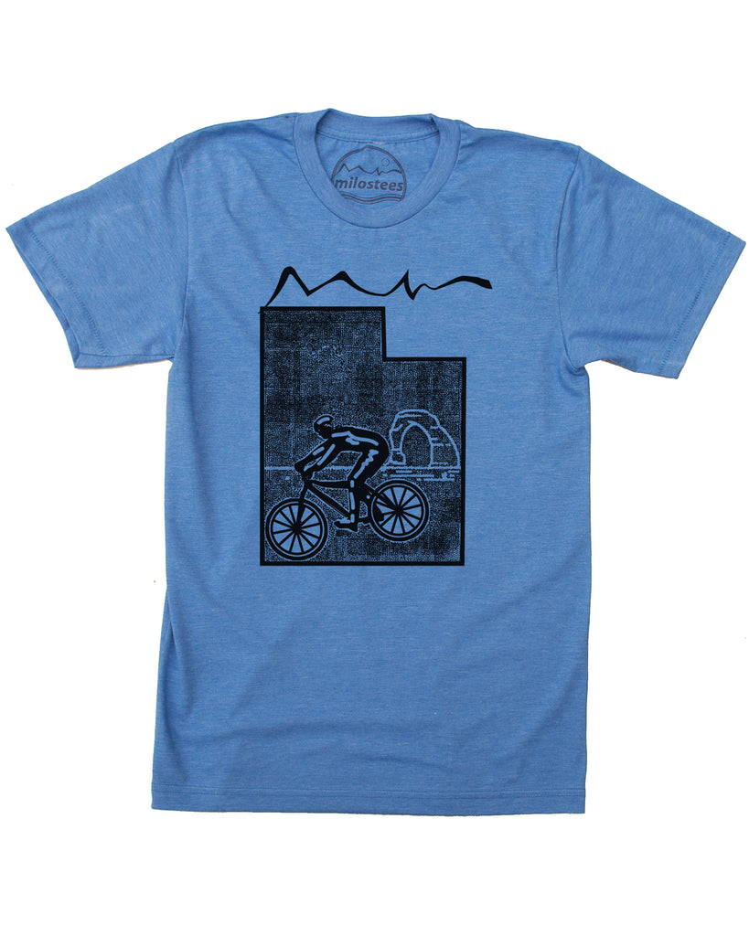Utah Home Shirt | Mountain Bike Style | Ride Moab is Soft 50/50 Tee's