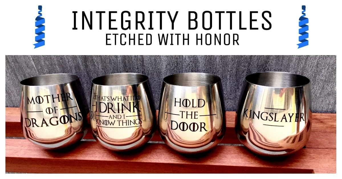 Sell Online with Integrity Bottles