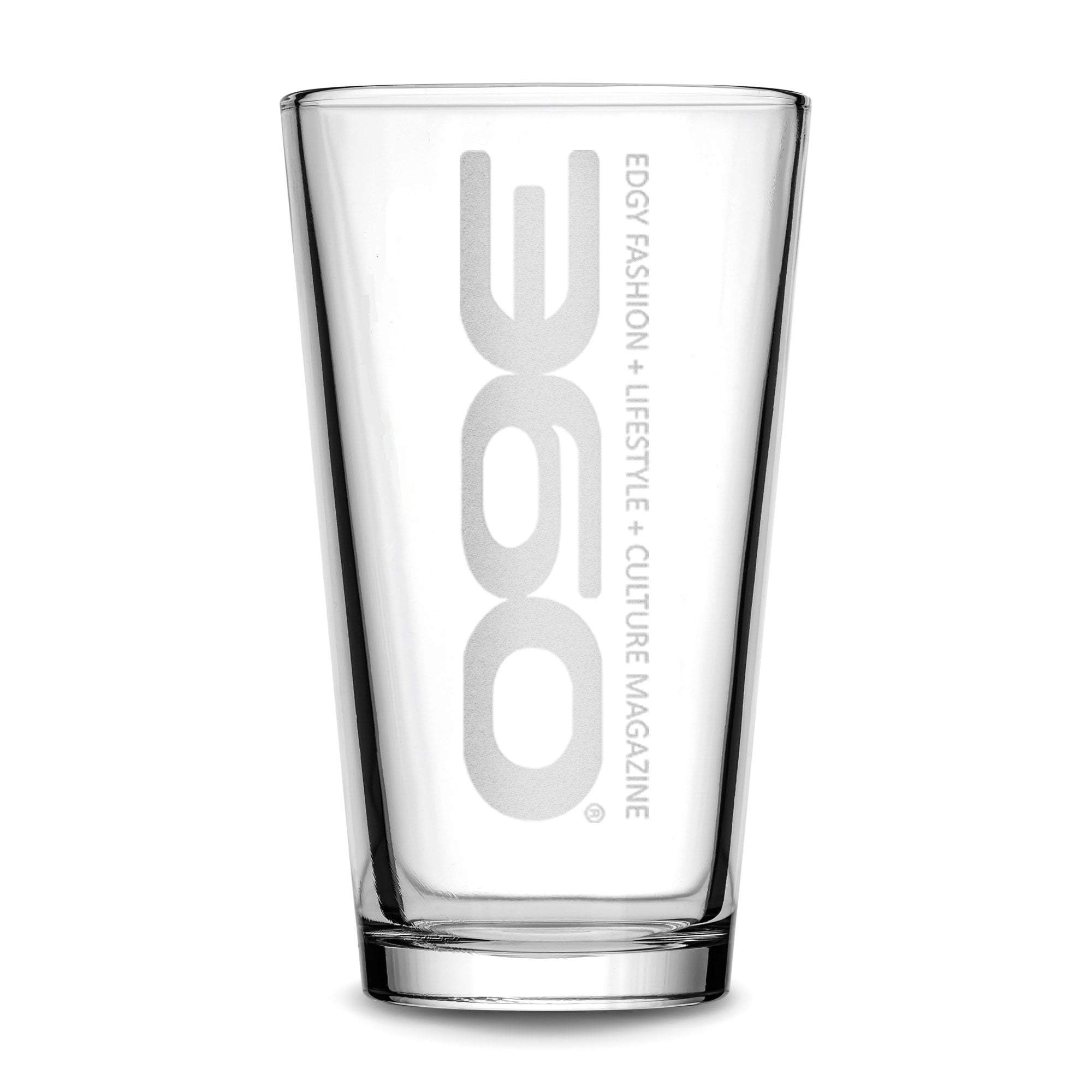 360 Magazine Pint Glass, Beer Glass, 16oz Integrity Bottles