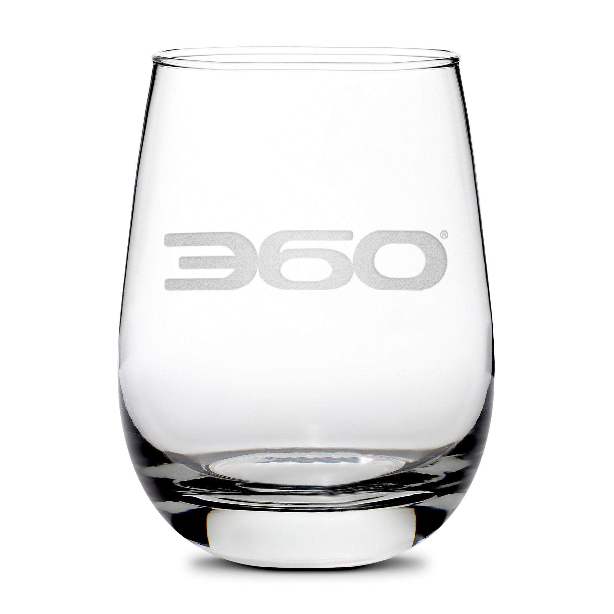 360 Magazine Stemless Wine Glass Integrity Bottles