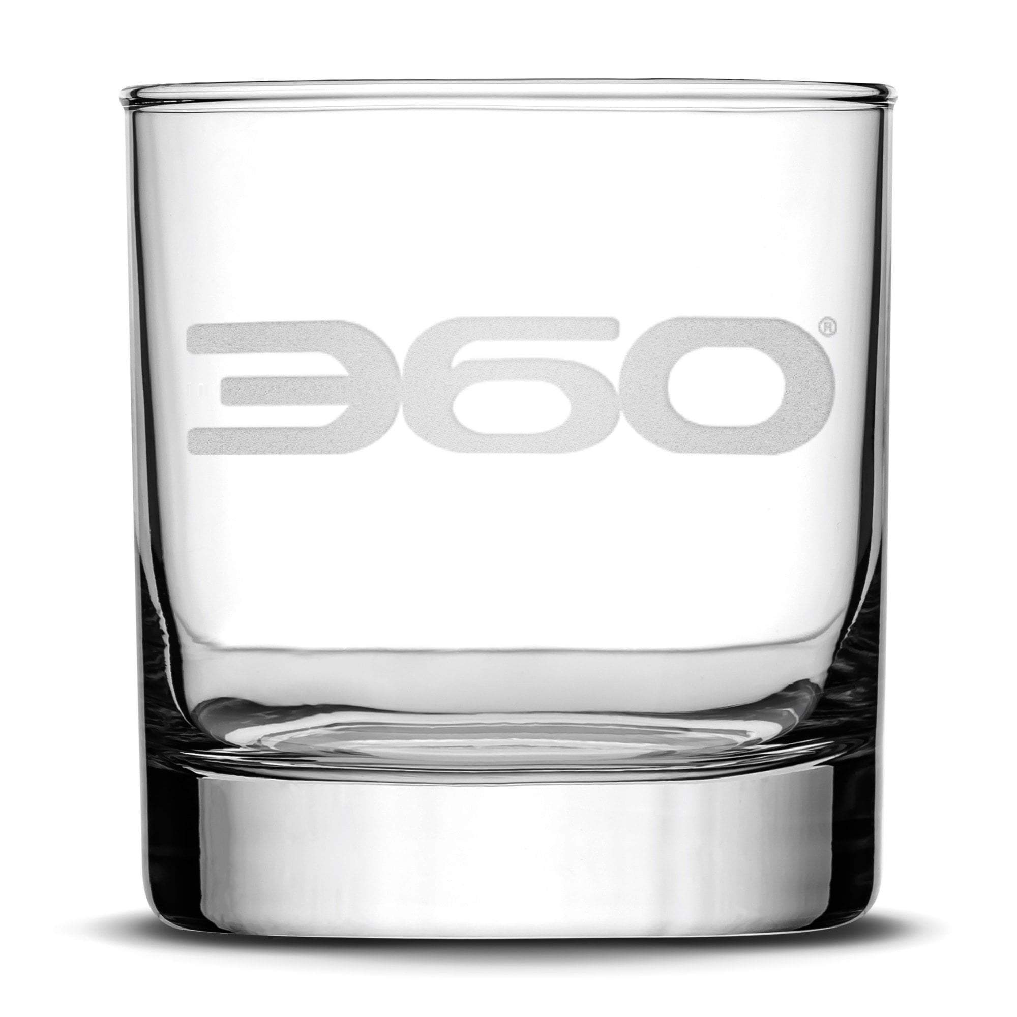 360 Magazine Whiskey Rocks Glass, 10oz Integrity Bottles