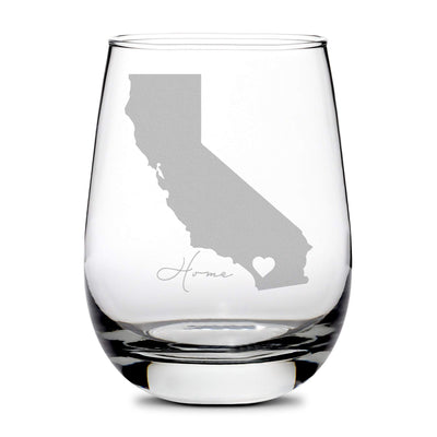 California Love Stemless Wine Glass Integrity Bottles