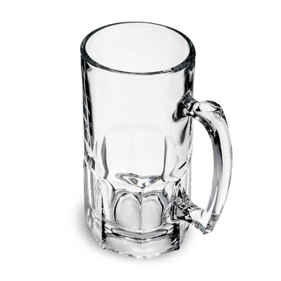 Custom Etched Gibraltar Beer Mug Integrity Bottles