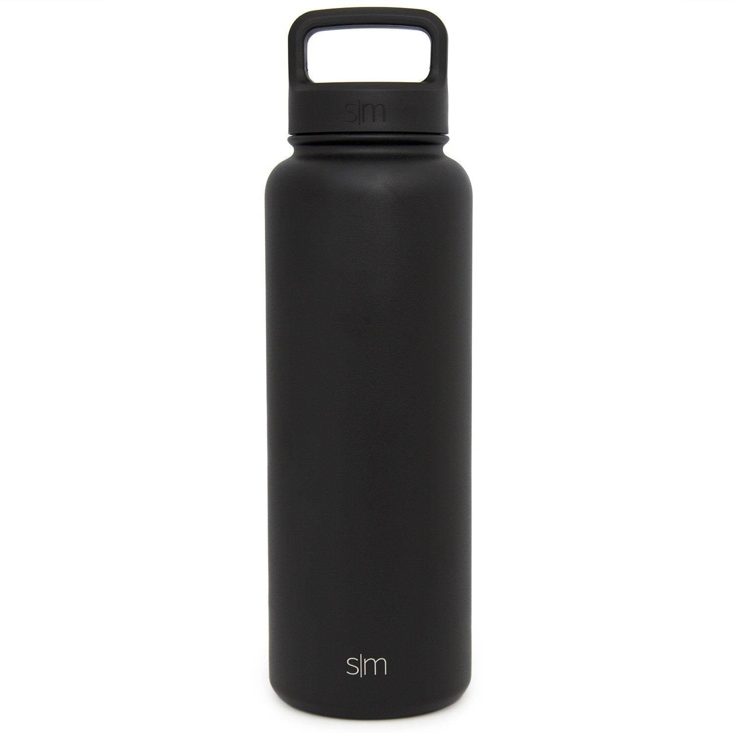 Custom Etched Simple Modern Summit Water Bottle, 40 Ounce Simple Modern