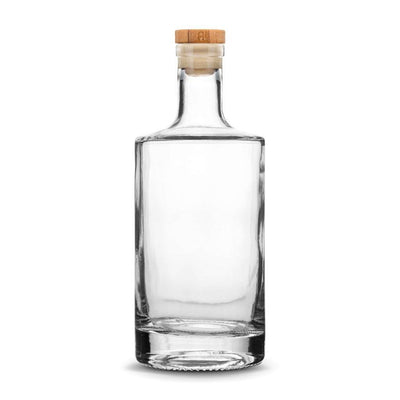 Custom Jersey Bottle, 750mL Deep Etched Liquor Bottle, Refillable by Integrity Bottles