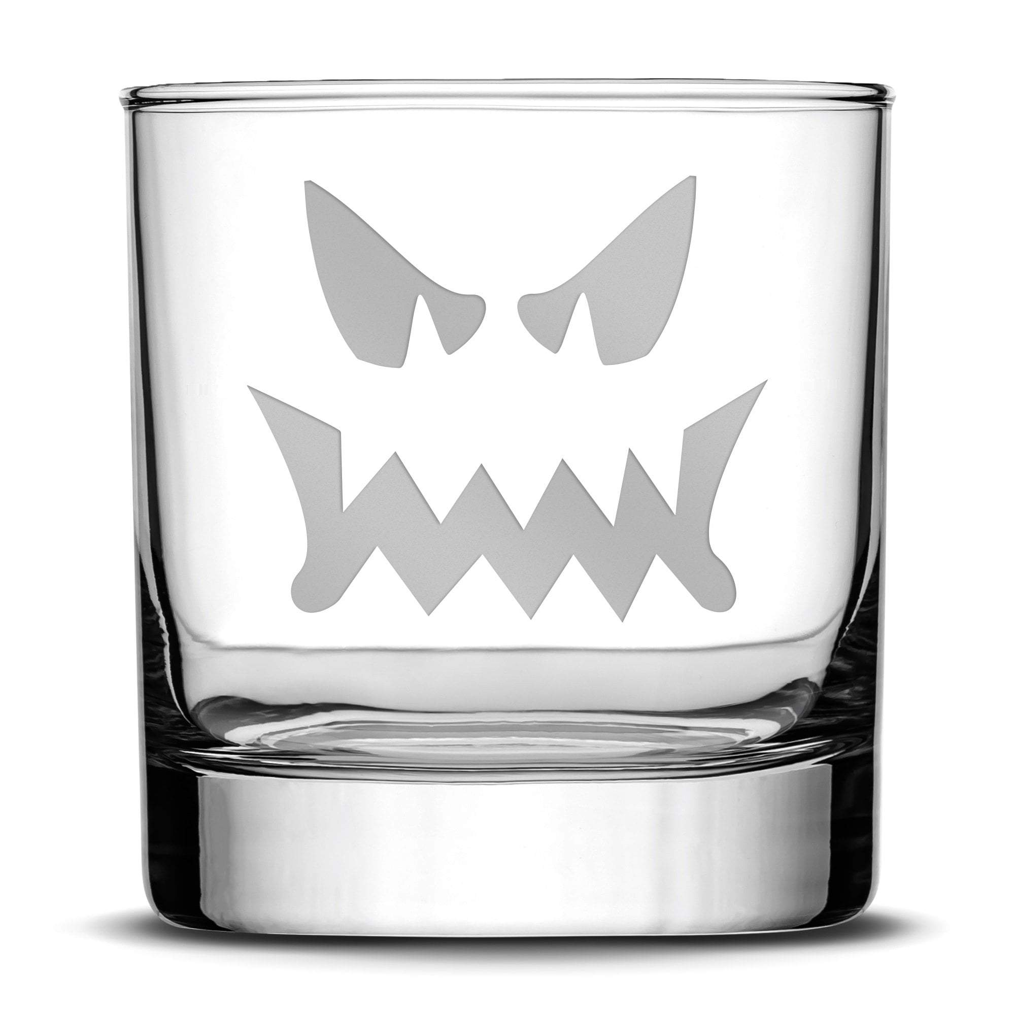 Halloween, Jack-O Whiskey, Whiskey Rocks Glass by Leitlein Design by Integrity Bottles