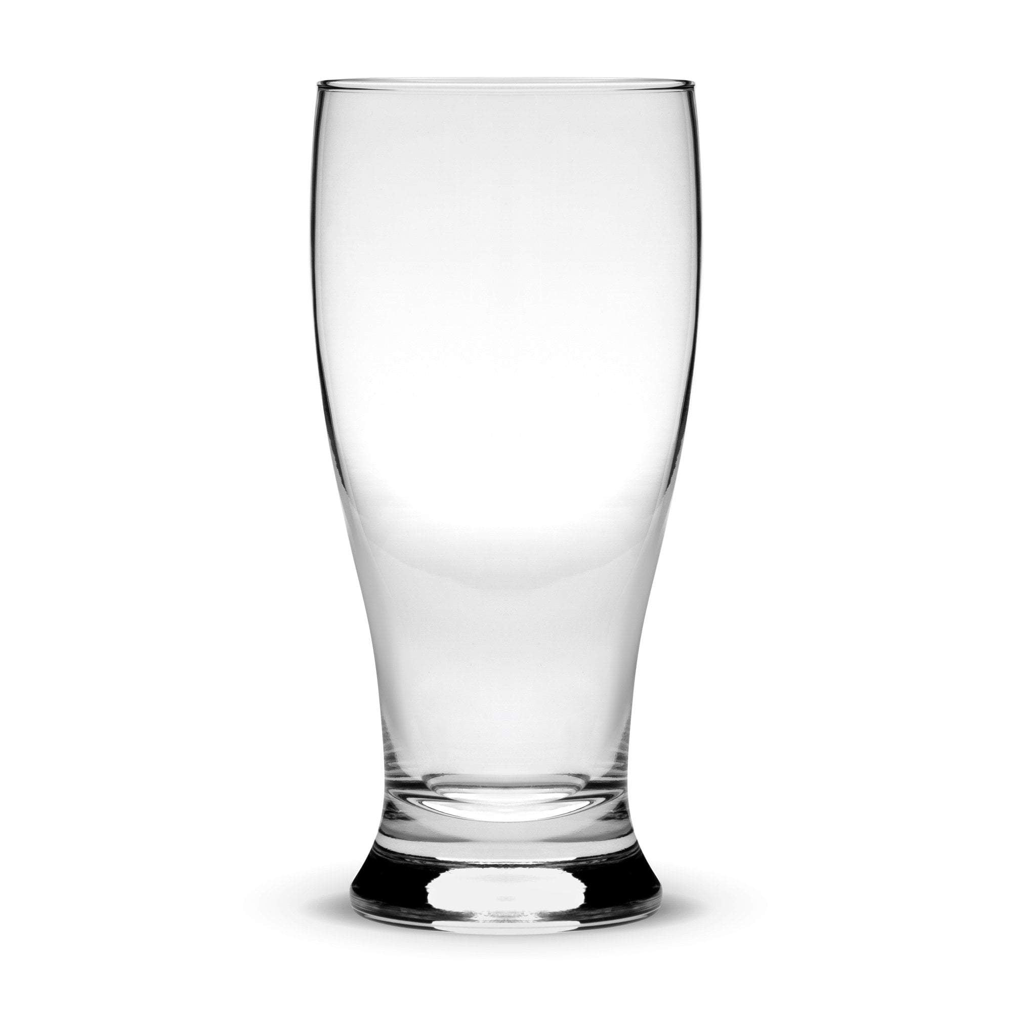Pilsner Pint Glass, Deep Etched by Integrity Bottles
