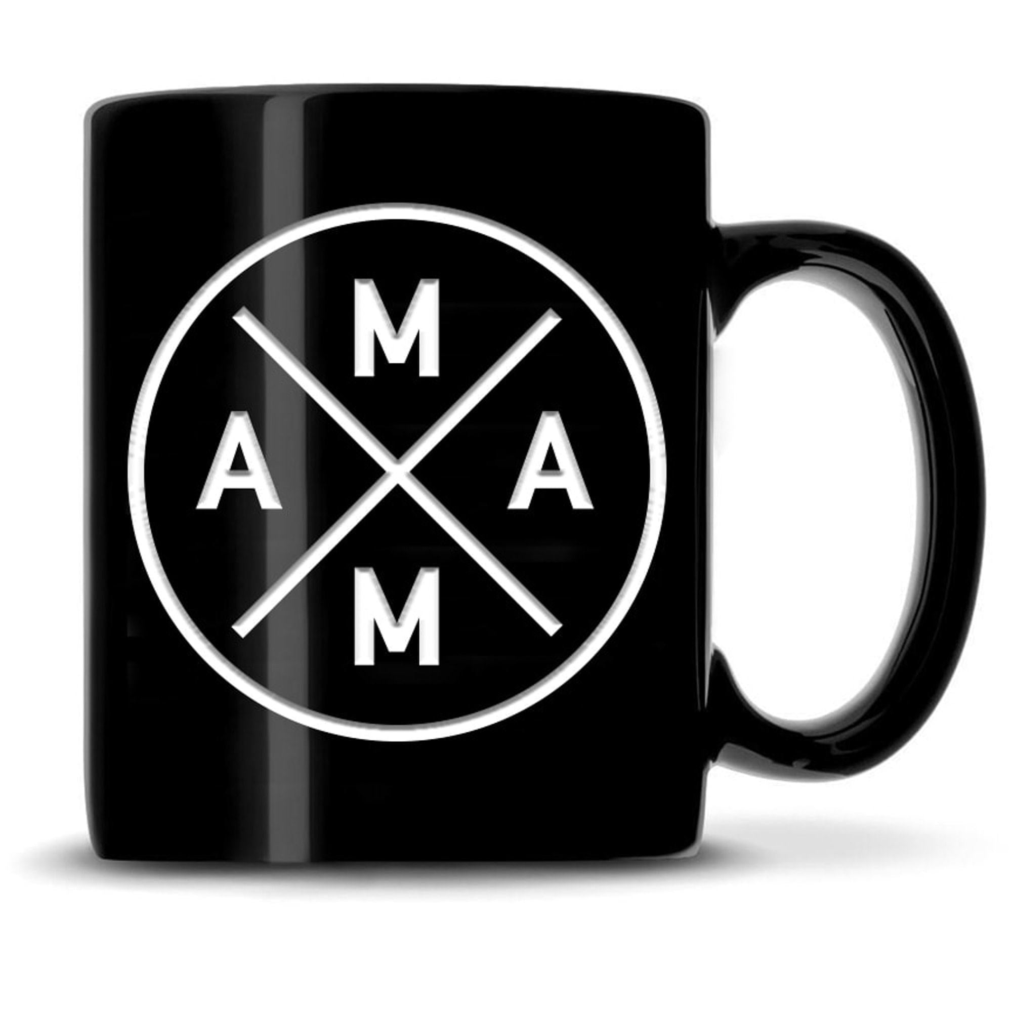Premium Coffee Mug, MAMA Design Integrity Bottles