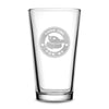 Premium Pint Glass, Baby Yoda One For Me - Circle Logo, 16oz by Integrity Bottles